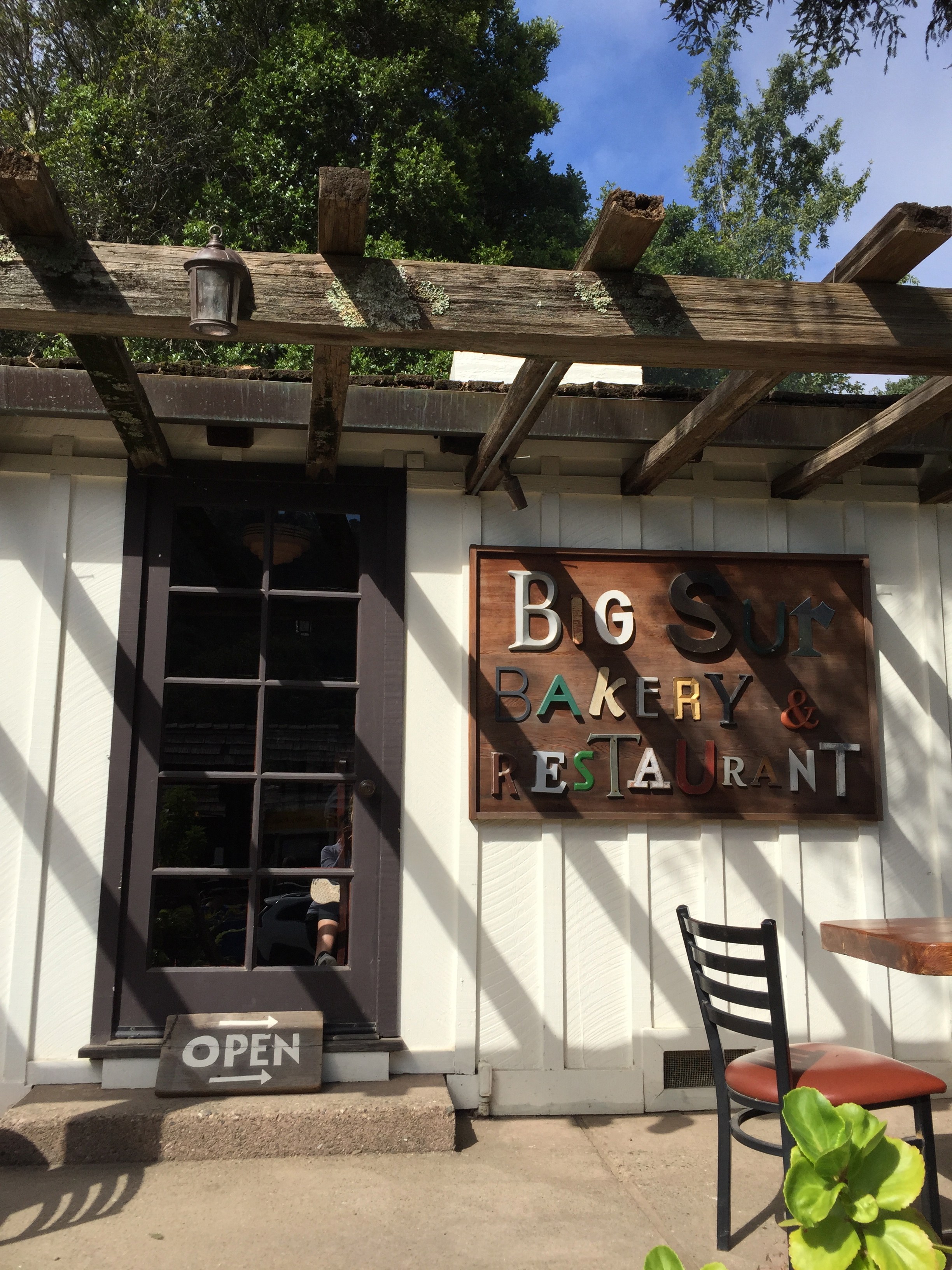 Picturesque Big Sur Bakery