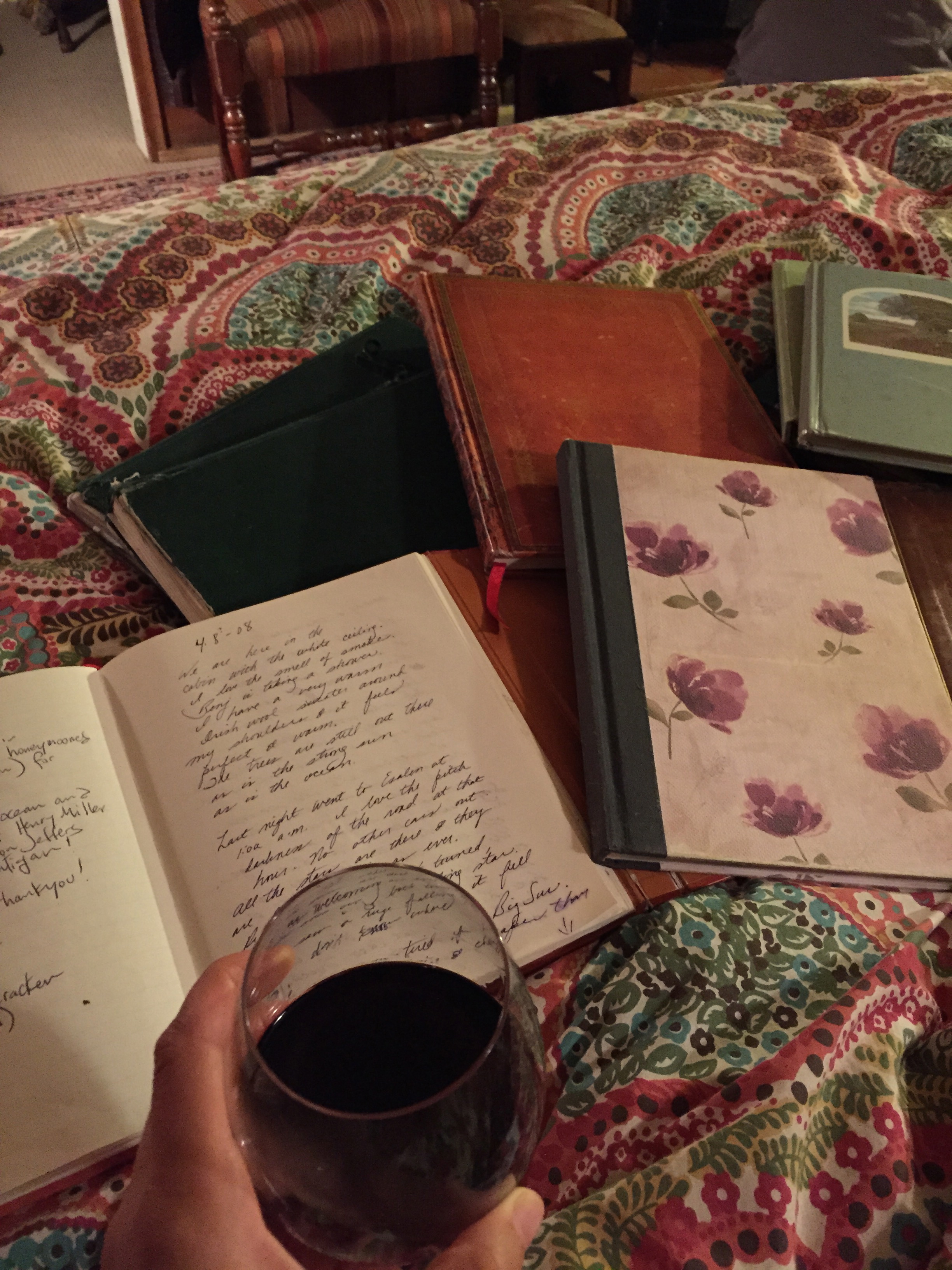 Famous Deetjen's Big Sur Inn journals